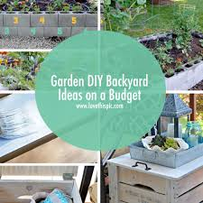 Garden DIY Backyard Ideas On A Budget - Diy backyard design on a budget