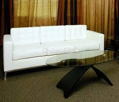 Leather Ikea Sofa Ikea White Leather Sofa Sauldesign