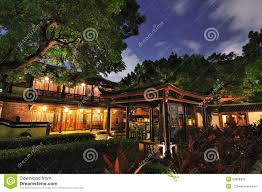 family garden chinese chinese garden and night stock photo image 50808432