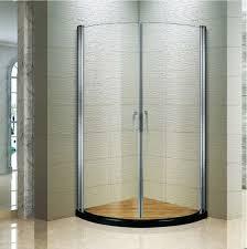 semi frameless corner dual pivot shower doors 38 inch shower door