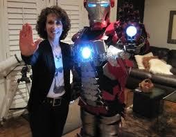 Tony Stark Halloween Costume Iron Man Mark Briefcase Suit Built