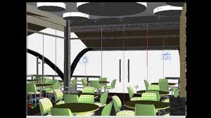 creating 3d restaurant design en autocad youtube