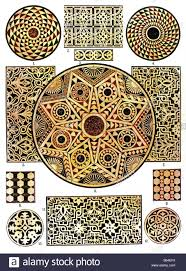 byzantine ornament byzantine marble mosaics for floors stock