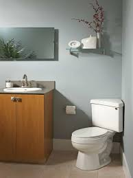 Modern Bathroom Toilet Modern Bathroom With Small Vanity And Corner Toilet A Small