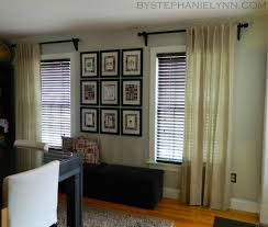 Make Your Own Curtain Rod Amusing 10 Where To Hang Curtain Rods Decorating Design Of