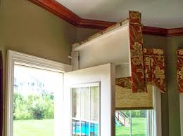 Curtain Box Valance From The Workroom Of Parkway Window Works Trick Or Treatment