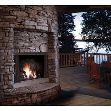 Discount Outdoor Fireplaces - kingsman zero clearance outdoor fireplace in stainless steel