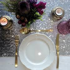 silver sequin table runner silver sequin table runner the sweet party shop