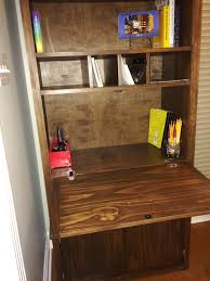 Secretary Desk Cabinet by Ana White Tall Secretary Cabinet With Modifications Diy Projects