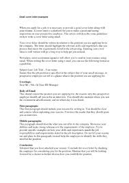What Is A Job Title On A Resume by Cover Letter Sent Via Email Haadyaooverbayresort Com