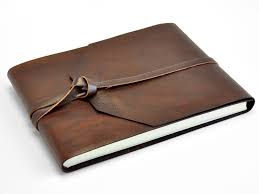 leather bound photo book sedona leather bound guest book crafts