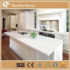 sale top quality engineered pure white quartz bathroom vanity