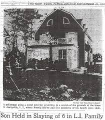 famous crime scene photos the murders the amityville files the amityville files