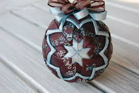 quilted ornaments quilted ornaments quilt balls