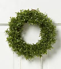 artificial boxwood wreath bloom room 10 soft touch boxwood wreath green joann