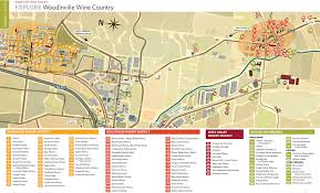 Map Of Seattle Woodinville Wine Country Map Just East Of Seattle In The