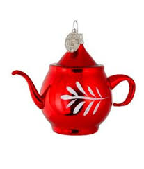 mini teapot ornament colonial williamsburg everything