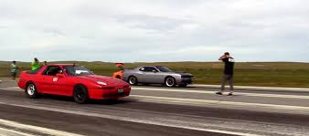 dodge challenger import vs import race as the hellcat and the supra mk3