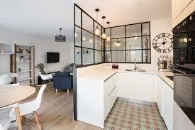 cuisine appartement parisien appartement 90m2 terrasse levallois perret scandinave
