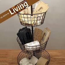 bathroom craft ideas 22 best three tier wire basket images on kitchen ideas