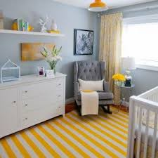 baby room lighting ideas yellow ls combined with striped yellow rug for amazing nursery