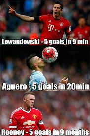 Lewandowski Memes - football memes on twitter lewandowski and aguero v rooney http