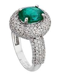 diamond cocktail rings zambian emerald diamond cocktail ring carat crush