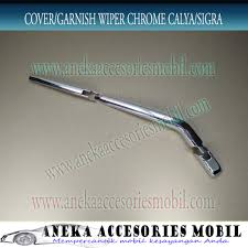 Daihatsu Sigra Trunk Lid Cover Chrome garnish wiper chrome daihatsu sigra cover wiper chrome daihatsu