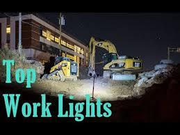 best construction work lights top 5 best work lights 2018 youtube