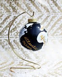 diy mystery supply challenge wanderlust globe ornament the