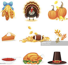 thanksgiving day icons and pictures vector getty images