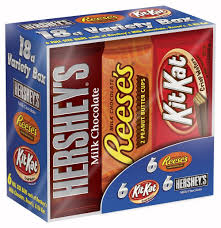 Fudge Boxes Wholesale Amazon Com Hershey Chocolate Candy Bar Variety Pack Hershey U0027s