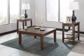 coffee tables black wood coffee table and end tables sofa ashley