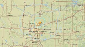 Oklahoma Travel Writing images Earthquake shakes central oklahoma one of 7 in 28 hours the two jpg
