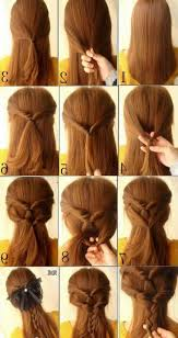 quick hairstyles for long hair at home 24 nice cute and easy hairstyles for girls cute simple