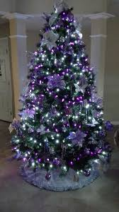 purple christmas tree christmas tree purple and silver christmas