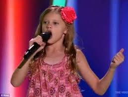 The Voice Kids Blind Auditions 2014 Hear Her Roar The Voice Kids Australia Contestant Olivia 10