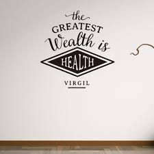 Modern Wall Stickers For Living Room Online Get Cheap Health Room Aliexpress Com Alibaba Group