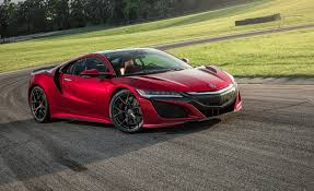 Acura Sports Car Price 2017 Acura Nsx In Depth Model Review Car And Driver