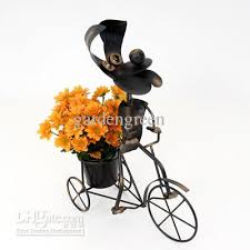 2018 on trike planters metal garden ornaments animal planters