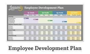 template development plan sample personal development plan