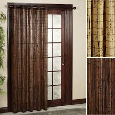 bamboo wall panels with well made bamboo patio door grommet panels