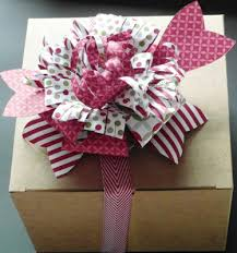 large gift bows gift bow bigz l die season of style dsp cherry cobbler chevron