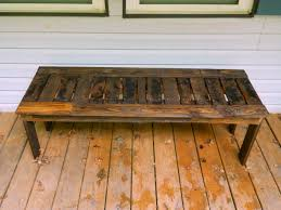 Simple Wood Bench Plans Free by Ana White Simple Bench From Pallets Diy Projects