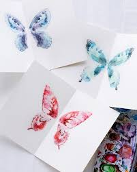 watercolor notecards butterfly watercolor notecards sweet paul magazine