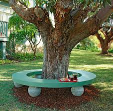 Bench Around Tree Plans 5 Tree Bench Plans Available For Free