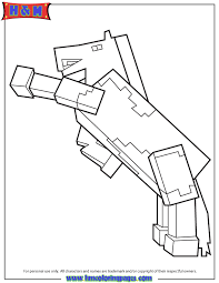 minecraft horse coloring page minecraft coloring pages