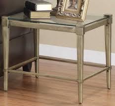 glass top end tables metal home elegance comfort living room table metal glasses white