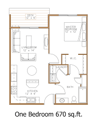 small apartment floor plans 1 bedroom