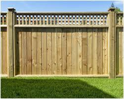 backyards ergonomic white vinyl fence 25 backyard wood fencing